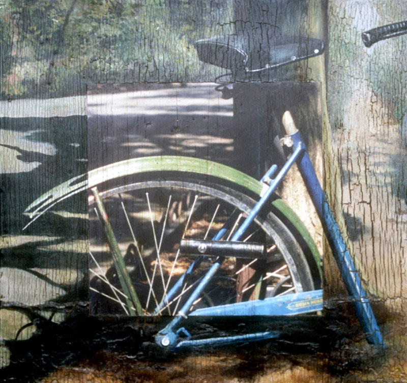 Robert Mielenhausen, Bike I, 19x19 inches.