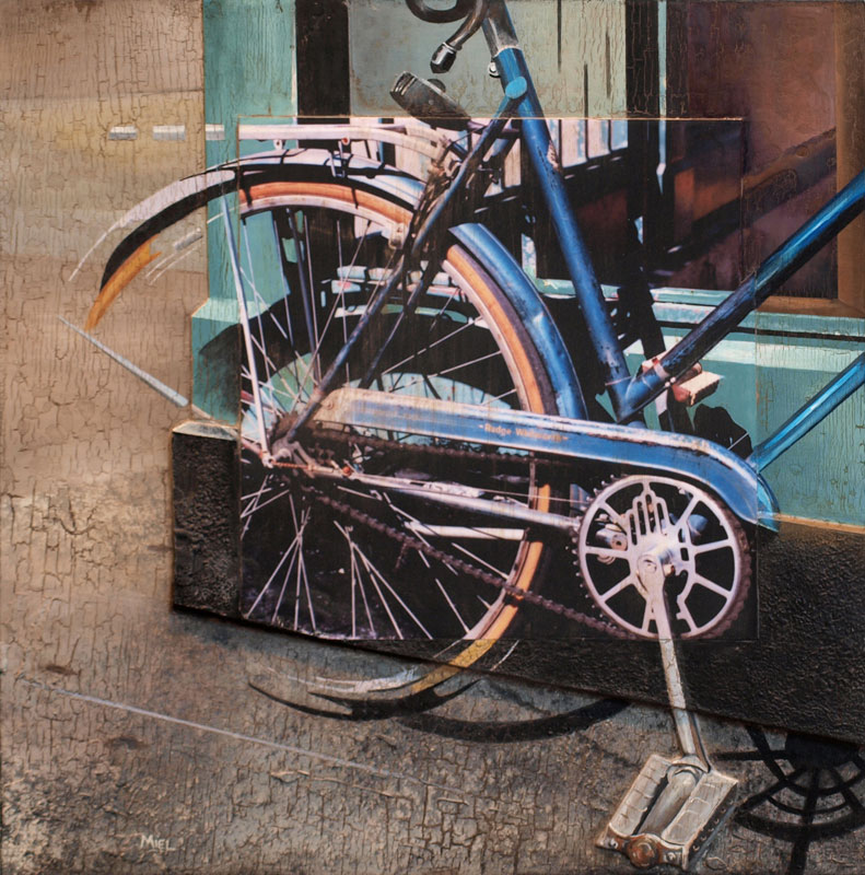 Robert Mielenhausen, Rudge Whitworth, 21x21 inches.