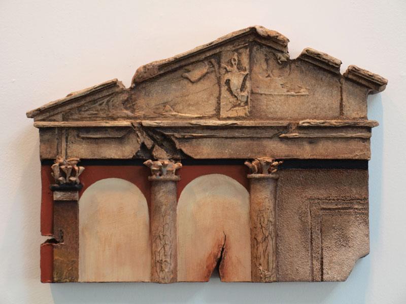 Robert Mielenhausen, Porticus Octaviae, 11.5x16 inches.