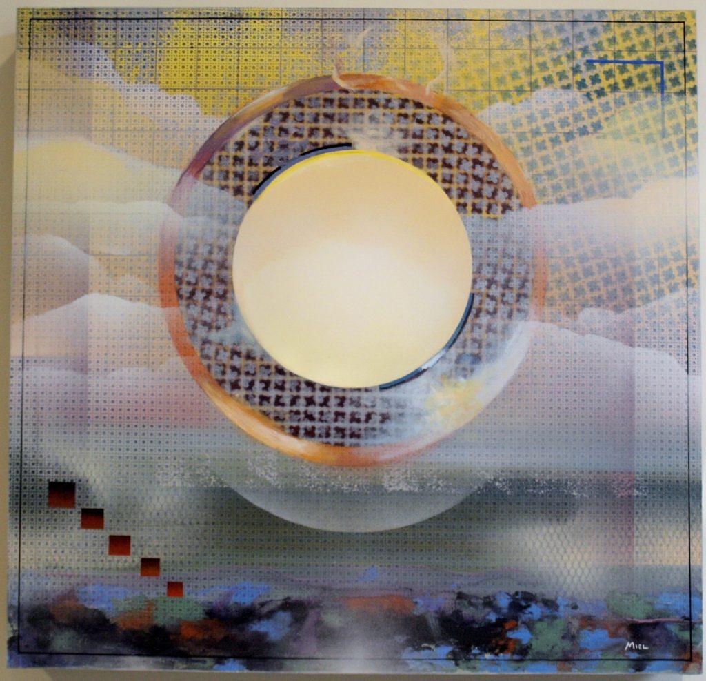"""Robert Mielenhausen, Emanations """" 24"""" x 24"""""""